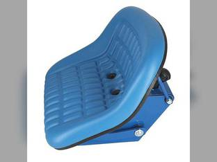 Seat Assembly Vinyl Blue Ford 5000 2100 7000 5600 4610 2000 3600 445 3610 3910 2120 2110 6700 4000 2910 5900 3100 3000 5100 2810 4600 2600 7100 3300 4100 5200 2300 6600 4110 2310 4330 4400 545 3500