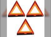 Triangle Warning Kit 3 Warning Triangles