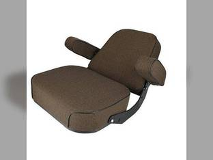 Seat Assembly Fabric Brown John Deere 4450 9510 4250 4650 9600 7720 8430 4030 4640 4020 4755 4050 4240 3010 7700 4230 4455 9400 4840 4630 9410 3020 4255 9610 4055 4320 4440 4850 4010 4000 4040 4430
