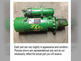 Used Starter John Deere 9300 9880 8850 8640 7520 5820 6710 9300T 9400T 9400 8760 8630 5020 9200 8650 6030 8770 644 5830 RE69590