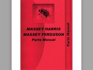 Parts Manual - MH-P-MF210+4 Massey Harris/Ferguson Massey Ferguson 210 210