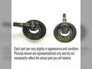 Used MFWD Ring Gear and Pinion Set Ford 7740 8240 5640 7840 8340 6640 81863254