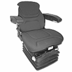 Deluxe Air Ride Seat & Suspension - Black
