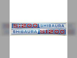 Decal Shibaura S1200