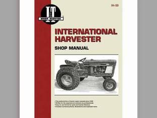 I&T Shop Manual - IH-50 Harvester (Farmall) International Cub 185 Cub 185 Cub 154 Cub 154 Cub Lo-Boy Cub Lo-Boy Cub Cub Cub 184 Cub 184