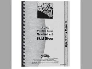 Operator's Manual - FO-O-NH L553+ Ford New Holland L553 L555 L554