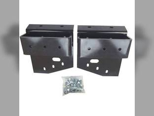 Weight Bracket Set New Holland L170 LS160 LS170 LX565 L160 LX665 L565 86504860 John Deere 7775 6675 AM120232