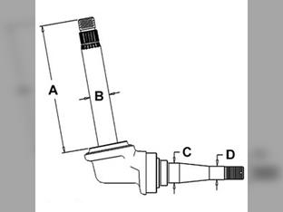 Spindle (RH/LH)
