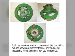 Used Charge Pump Drive Sheave and Hub Assembly John Deere 9450 9501 9500 SH 9650 CTS 9510 9750 STS 9500 9410 9600 9610 9650 STS 9400 9650 CTS CTSII 9510 SH 9550 9550 SH H132937