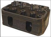 Cylinder Head, 2 Cylinder, Gas