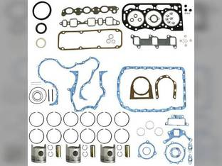 "Engine Rebuild Kit - Less Bearings - .020"" Oversize Pistons - 1/81-2/90 Ford BSD332 3910 340B 334 445A 192 3610"