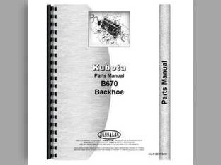 Parts Manual - B6100 B7100 Kubota B6100 B6100 B7100 B7100