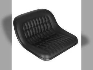 "Pan Seat 19"" Cushion with 7"" Spacing Vinyl Black Ford 3610 5000 2100 7000 3910 2120 2110 6700 4000 2910 5900 3100 3000 5100 2810 4600 2600 7100 4100 4610 2000 3600 2310 4330 4400 3500 5200 6600 4110"