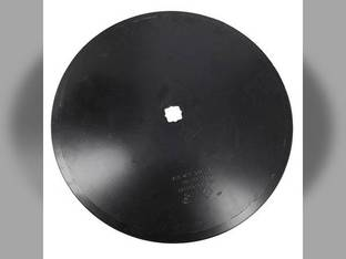 "Disc Blade 22"" Smooth Edge 1/4"" Thickness 1-1/8"" Square x 1-1/4"" Square Axle John Deere A35487"