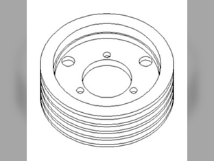 Sheave, Cylinder Drive, Dual Range