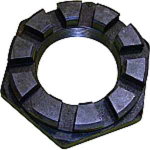 Spindle Nut - Slotted