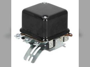 Voltage Regulator - 12 Volt - 4 Terminal - Curved Mount Oliver 880 550 770 77 Allis Chalmers D15 WD45 CockShutt / CO OP Minneapolis Moline Massey Ferguson Massey Harris White John Deere G 60 50 A 70