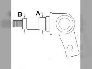 Spindle - RH Case 580K 590 International 580 D125340.