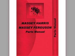 Parts Manual - MH-P-MF2705 Massey Harris/Ferguson Massey Ferguson 2705 2705