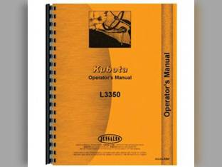 Operator's Manual - KU-O-L3350 Kubota L3350