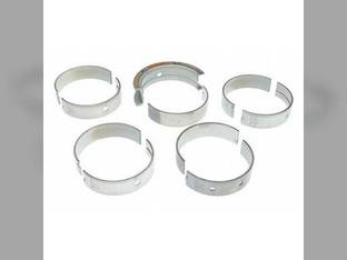"Main Bearings - .010"" Oversize - Set White 2-180 4-180 4-225 4-150 4-270 4-210 4-175 9N3056 Caterpillar 3208"