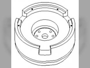 Flywheel With Ring Gear John Deere 5715 5510 5605 5725 5410 5520N 5510N 5705 5520 5420 5415H 5615 5420N 5625 5415 RE502964