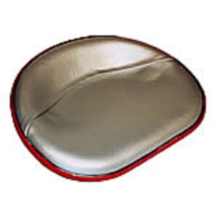 Seat, 4 Bolt - Silver Vinyl