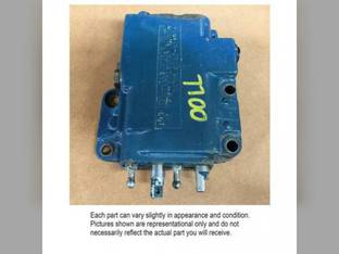 Used Dual Hydraulic Valve Ford 2100 2110 2000 3500 3600 3610 3910 3930 4000 2310 2600 2610 2810 2910 3000 3100 5100 4600 4610 4630 5000 4140 4130 4110 2120 6600 5600 7000 6700 5700 5900 7700 7600