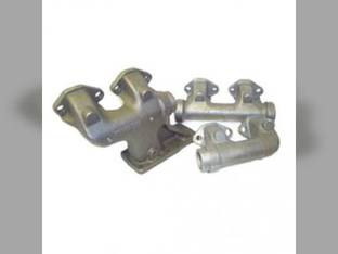 Exhaust Manifold Set Allis Chalmers 7030 7040 7045 7050 7060 7080 8030 8050 8070 74036501 Gleaner M M2 L L2 N5 74036501