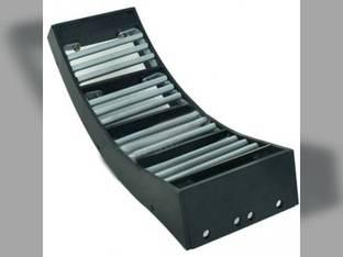 Concave KX7 - MaxRound - Kondex Case IH 9230 9120 7230 8230 7120 AFX8010 8120 84247324