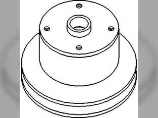 Water Pump Pulley John Deere 2350 2750 2550 2040 1640 2140 1840 AR70442