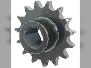 Sprocket Fixed Roll Drive Stuffer Feeder 15T New Holland BR7090 BR7070 BR780A Case IH RB564 RB464