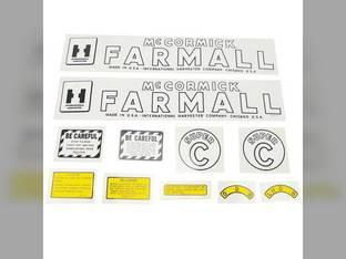 Mylar Decal Set - Farmall & Super C International Super C