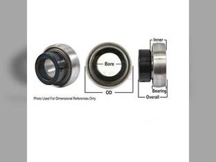 Bearing, Ball, Spherical W/Collar, Non-Lubricable