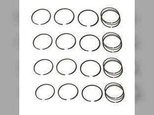 Piston Ring Set - Standard - 4 Cylinder Ford 621 651 611 701 144 641 501 771 541 2000 761 631 661 2100 681 671 741 601 Allis Chalmers D15 149 D12 D10 I40 H3 D14 I400 138