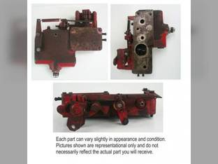 Used Priority Valve Assembly International 786 3688 986 3388 886 3288 Hydro 186 6788 3088 1486 6588 3788 6388 3488 1586 1086 3588 127925C91