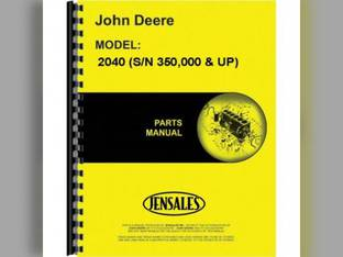 Parts Manual - JD-P-PC1763 John Deere 2040