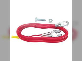 "Battery Cable - 38"" - Red 4 Gauge Ford 5600 3910 2310 2910 2120 5900 5610 2810 2110 7610 6700 4610 7710 5000 6610 7700 2600 4140 4600 6710 2610 2000 7600 6600 3000 335 3600 6810 3610 4110 5110 7000"