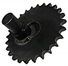 Right Hand Shoe Drive Sprocket With Crank