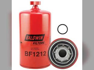 Filter - Fuel / Water Seperator Spin On With Drain BF1212 Allis Chalmers Case Cummins 3308638 Versatile John Deere 6810 8960 8970 750 6810 Steiger New Holland Case IH 2344 2366 2377 2388 Ford Cummins
