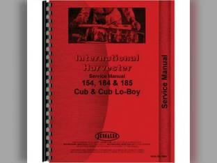 Service Manual - IH-S-154 184+ International Cub 185 Cub 185 Cub Lo-Boy Cub Lo-Boy Cub 184 Cub 184