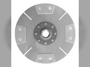 Remanufactured Clutch Disc Ford 2110 1910 SBA320400160 White 2-32 37 Field Boss Shibaura SD5040 SD4340 SD4440
