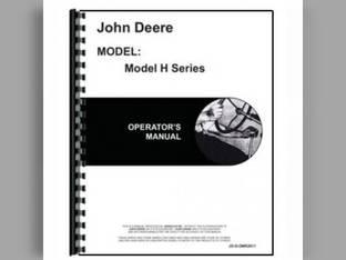 Operator's Manual - JD-O-OMR2011 John Deere H H