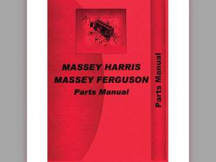 Parts Manual - MH-P-44DSL Massey Harris/Ferguson Massey Harris 44 44