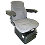 Deluxe Air Ride Seat and Suspension - Grey