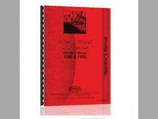 Operator's Manual - IH-O-1566 1568 Harvester International 1566 1568