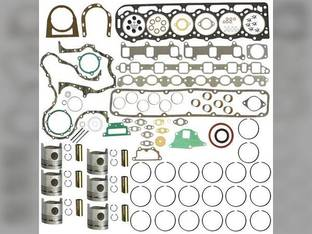 "Engine Rebuild Kit - Less Bearings - .020"" Oversize Pistons Ford 8730 A66 TW20 TW30 TW15 TW35 8830 401T TW25 8630 BSD666T"