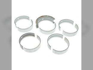 "Main Bearings - .010"" Oversize - Set White 2-180 4-150 4-175 4-180 4-210 4-225 4-270 Caterpillar 3208"