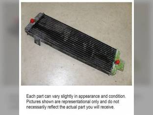 Used Hydraulic Oil Cooler John Deere 4030 4230 484 7440 7445 9900 9910 9920 9930 AR61887