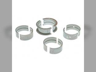 "Main Bearings - .010"" Oversize - Set Ford 6100 6000"